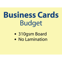 1,000 x Business Cards - 310gsm