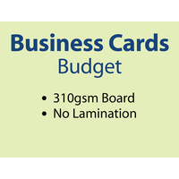 500 x Business Cards - 310gsm