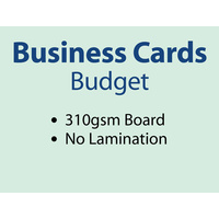 10,000 x Business Cards - 310gsm