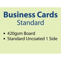 1,000 x Business Cards - 420gsm
