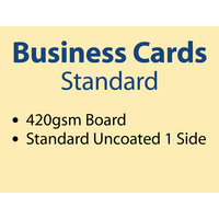 2,000 x Business Cards - 420gsm